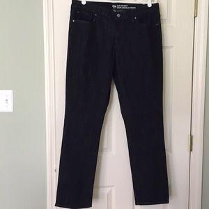 Gap Slim Straight Stretch Dark Denim Jeans